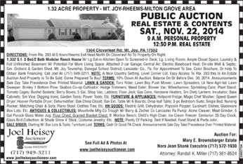 real estate auctions lancaster pa